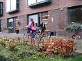 Isa en Parvanie fietsen weer verder
