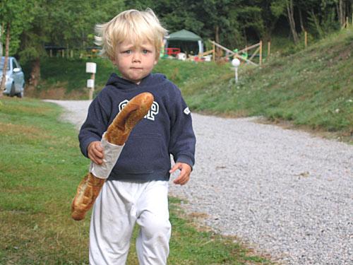 Sibren, de stokbroodrunner van La Perle