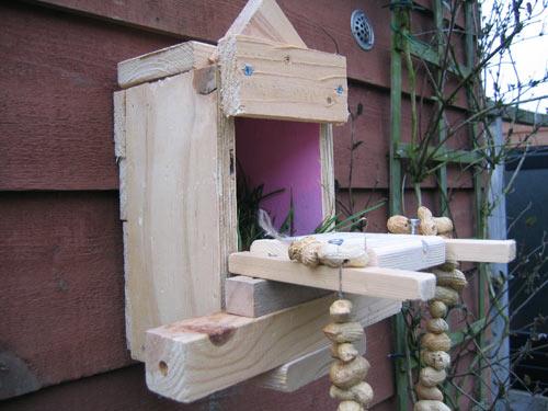 Het vogelhuisje van Marijn