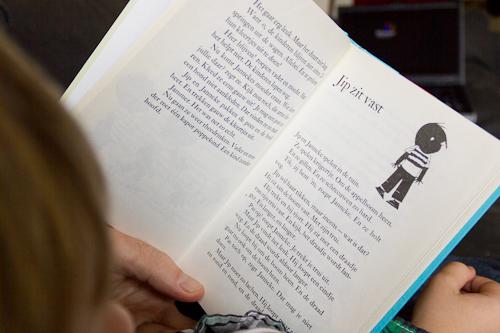 Sibren leest 'Jip zit vast'