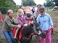 Marijn op pony Cato